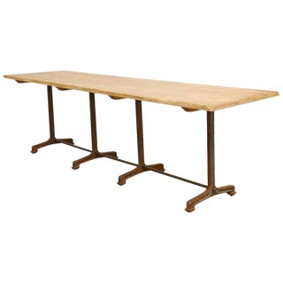 French Bistro Cooks Dining Table by Ralph Lauren