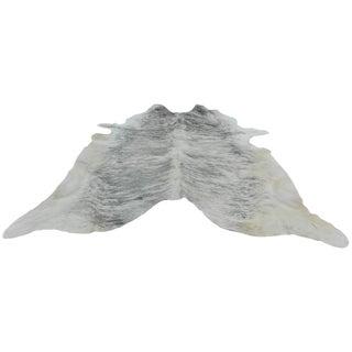 Gray Cowhide Rug - 5′ × 7′4″