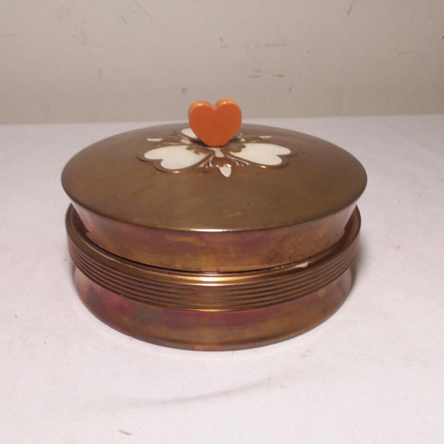 Art Deco Chase Vanity Powder Jar For Sale - Image 10 of 11