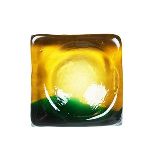Molded Murano Glass Ashtray Dish For Sale