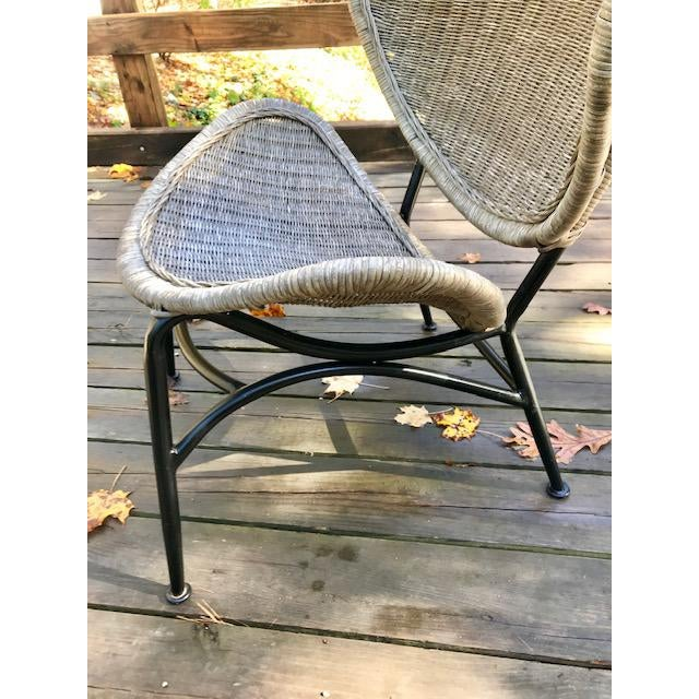Gray Mid Century Modern Salterini Clam Shell Chair For Sale - Image 8 of 10