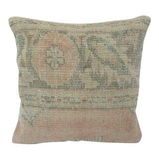 Turkish Washed Out Vintage Decorative Pillow Cover For Sale