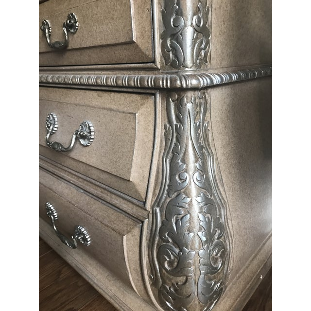 Marge Carson 1990s Traditional Marge Carson Bombe Chest For Sale - Image 4 of 6