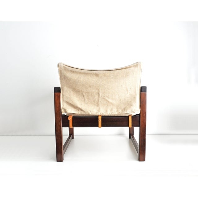 Vintage Safari Style Lounge Chair - Image 6 of 9