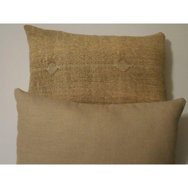 Rug Fragment Geometric Cream Pillow - Pair - Image 11 of 11