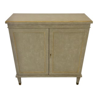 Modern History Gustavian Style Cabinet For Sale