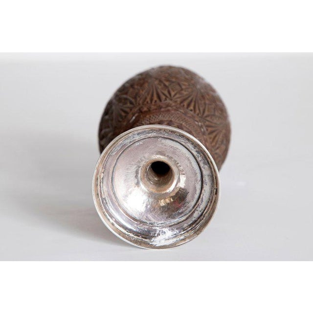 Late 18th Century Geroge III Coconut & Silver Goblet by Charles Hougham For Sale - Image 10 of 13