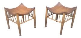 Image of Mid-Century Modern Low Stools