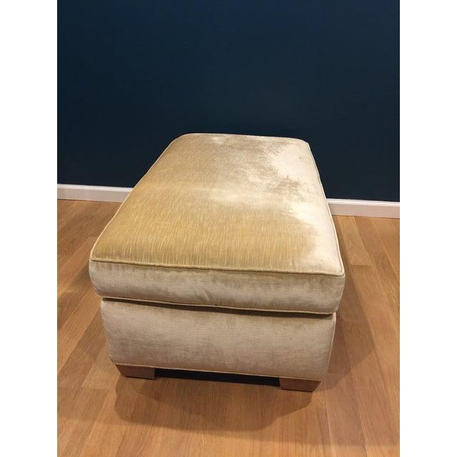 Custom Vintage Armchair With Ottoman - Image 7 of 7
