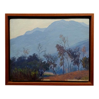 """William Henry Price """"Early California Landscape"""" Oi Painting C.1910s For Sale"""