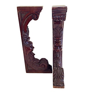 Ornamental Wood Architectural Elements For Sale