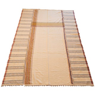 Indian Fairtrade Beautifully Handcrafted Textile/Throw For Sale