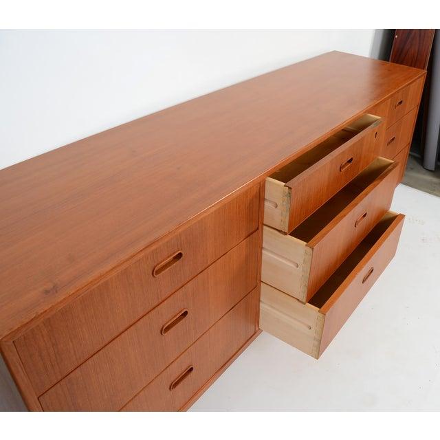 1960s Danish Modern Teak Dresser Arne Vodder For Sale In Washington DC - Image 6 of 8