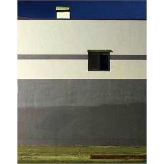 "Contemporary Night Photograph ""Gray Wall"" by John Vias For Sale"