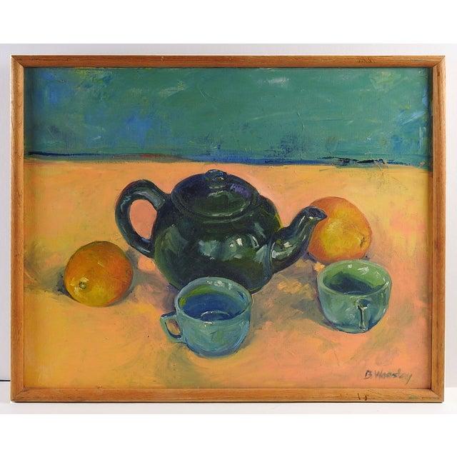 Tea & Oranges Still Life by Brigitte Woosley - Image 2 of 3