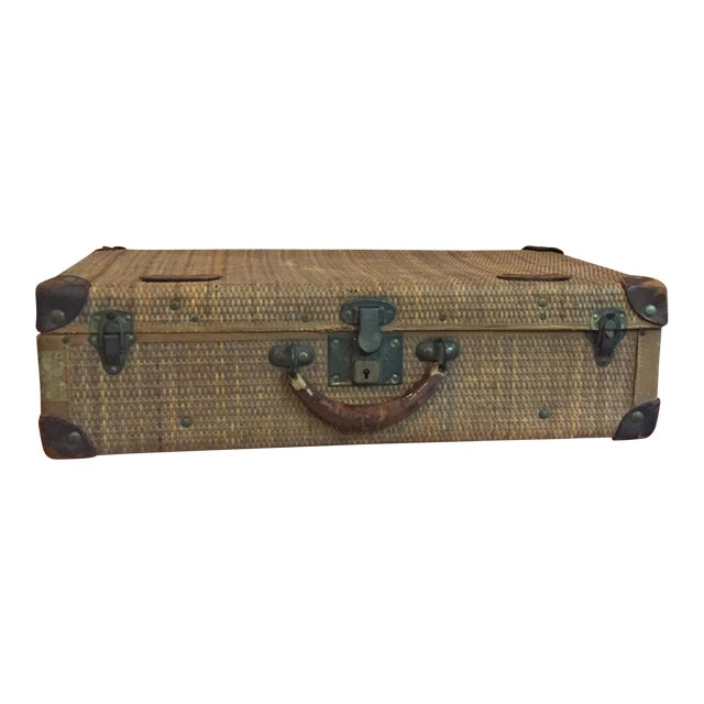 Rattan Suitcase For Sale