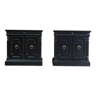 Drexel Heritage French Regency Nightstands - A Pair For Sale