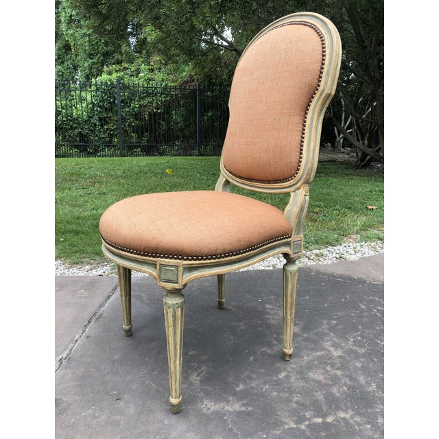 French Dennis and Leen Louis XVI Side Chair For Sale - Image 3 of 5