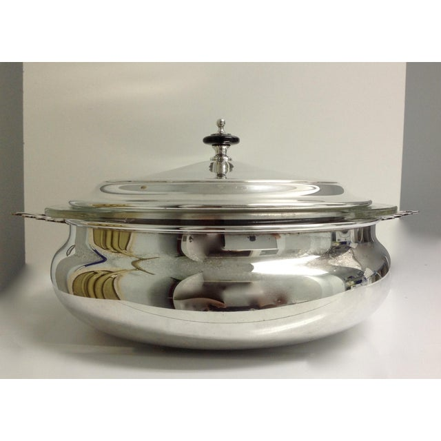 Silver Plate Lidded Chapin Dish Server Bowl - 3 Pieces For Sale - Image 10 of 10