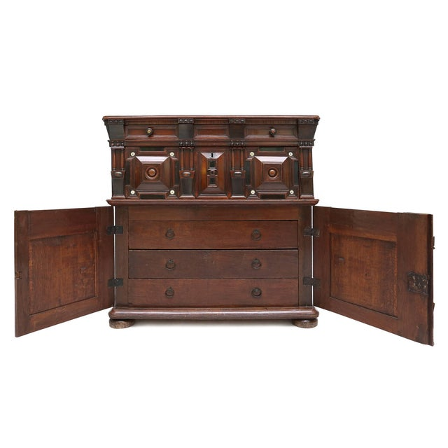 17th Century Antique Brutalist Chest For Sale - Image 5 of 8