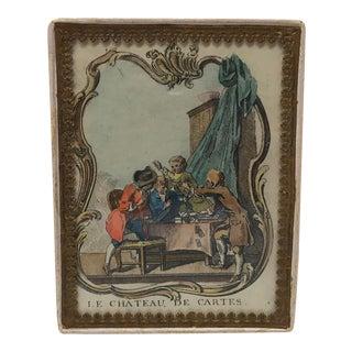 Antique Parisian Handmade Box For Sale