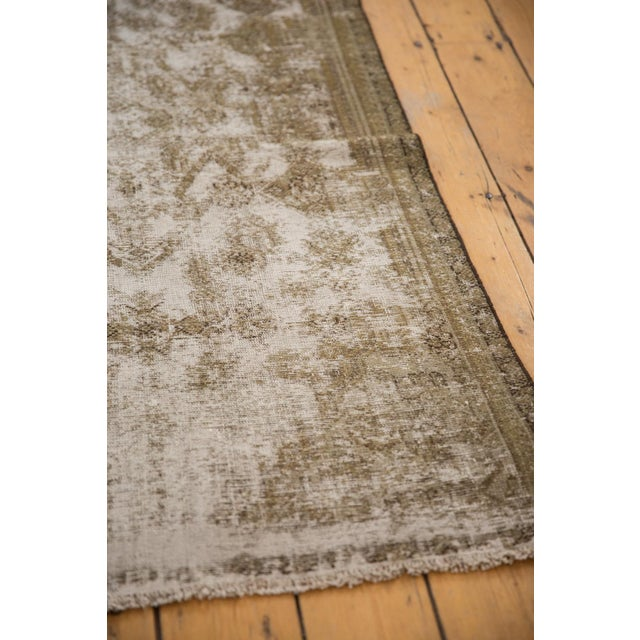 "Boho Chic Vintage Distressed Fragment Malayer Rug - 3'1"" X 5'1"" For Sale - Image 3 of 11"