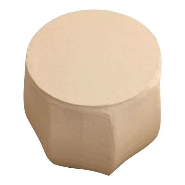West Elm PapierMâché Drum Side Table Chairish - West elm drum table