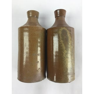 19th Century Rustic English Stone Bottles - a Pair Preview