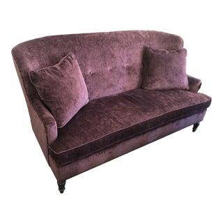 Nadine Sofette in Purple For Sale