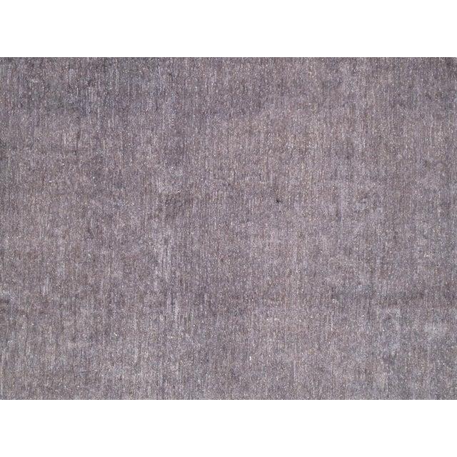 Overdyed Amethyst Wool Area Rug - 9′11″ × 13′2″ - Image 2 of 4