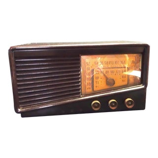 Philco Fm / Bc Radio Circa 1948 Table Radio For Sale