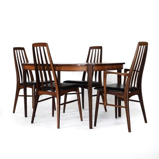 Mid Century Rosewood Niels Koefoed Eva Dining Set- 5 Pieces Preview