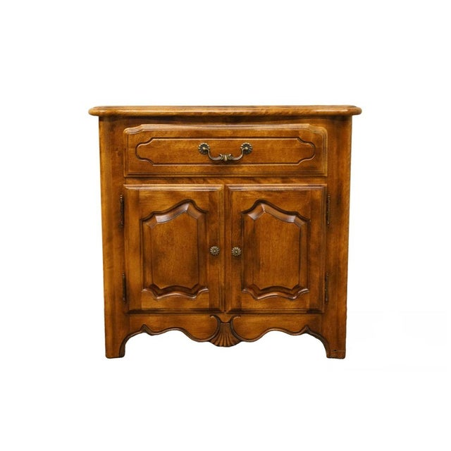 """Ethan Allen Country French Collection 26"""" Nightstand 26-5316 - Finish 236 For Sale - Image 13 of 13"""