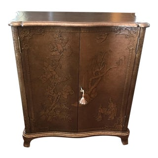 Theodore Alexander Argento Chinoiserie Blossom Cabinet For Sale