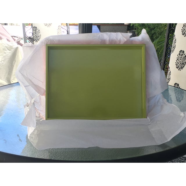 Lime Green Lacquer Tray - Image 8 of 8