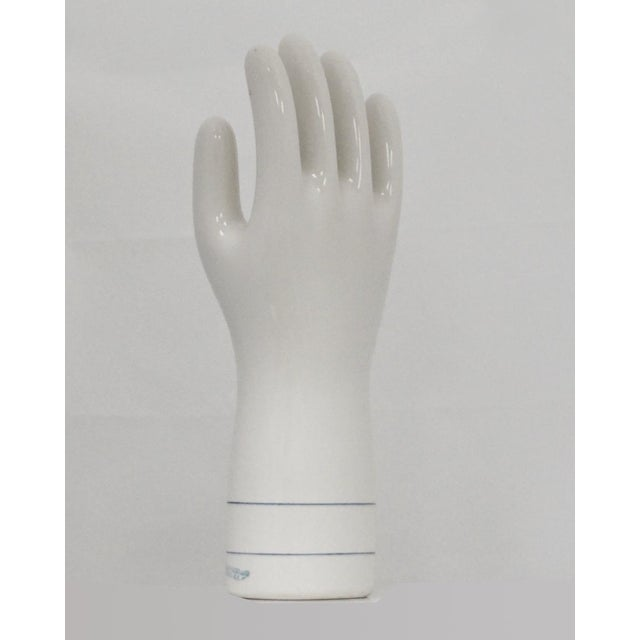 Glove models were used to make synthetic gloves, used by doctors. On the mold reads: September 25, 1990 #11 (must be hand...