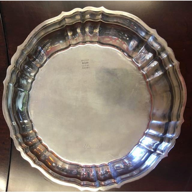 Chippendale Gorham Chippendale Sterling Silver Bowl For Sale - Image 3 of 8