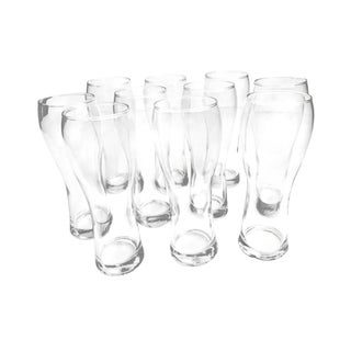 Anchor Hocking Pilsner Beer Glasses - Set of 10