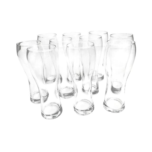 Anchor Hocking Pilsner Beer Glasses - Set of 10 For Sale