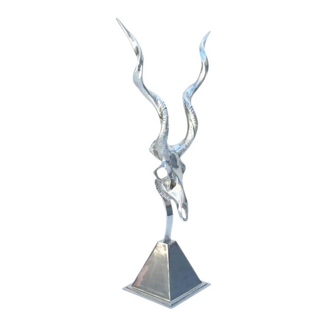 Polished Aluminum Sculpture by Arthur Court - Image 1 of 10