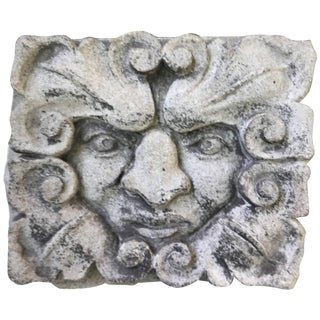 19th Century Carved Limestone Gargoyle Architectural Fragment Element For Sale