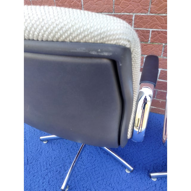 Metal 1980's Vintage Steelcase Chair For Sale - Image 7 of 12