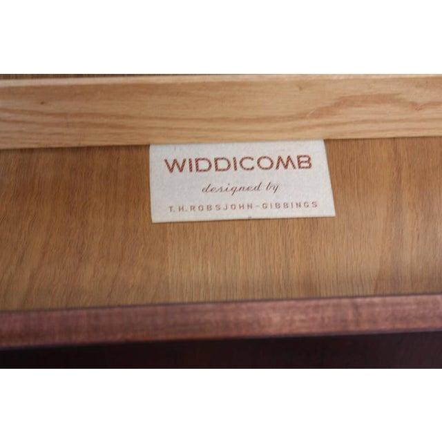 Pair of T. H. Robsjohn-Gibbings Single Drawer End Tables - Image 5 of 10