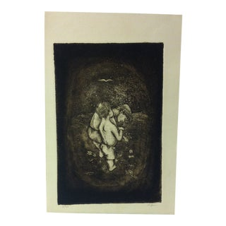 """Limited Edition Signed Numbered (11/20) Print, """"Nature"""" by R. Jon For Sale"""