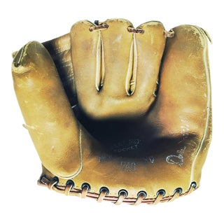 Vintage Dubow Baseball Glove For Sale