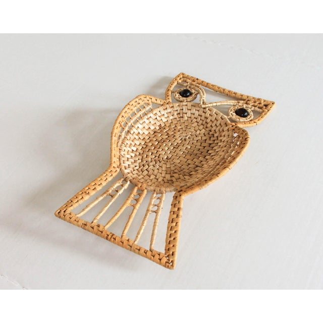 Mid-Century Modern Vintage Owl Wall Hanging For Sale - Image 3 of 8