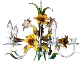 Image of Flower Chandeliers