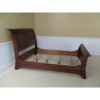 Ethan Allen Mahogany Queen Size Sleigh Bed Preview