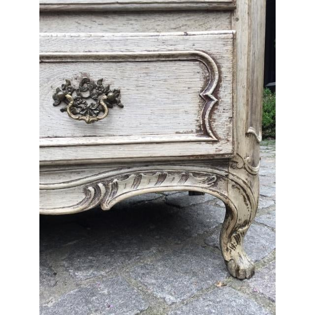 Oak 18th C. Louis XV Commode For Sale - Image 7 of 9