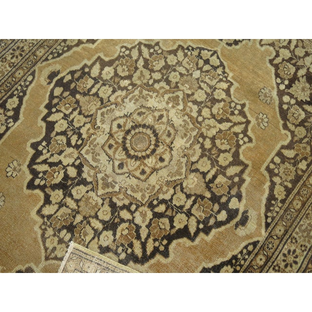 Mid 20th Century Persian Tabriz Rug 3'10'' X 5'. For Sale - Image 5 of 6